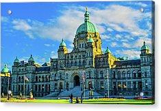 Parliament Victoria Bc Acrylic Print