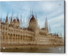 Acrylic Print featuring the photograph Parliamentary Procedure by Alex Lapidus