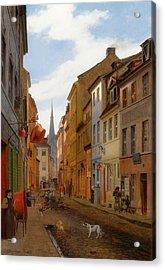 Parochial Strasse In Berlin Acrylic Print