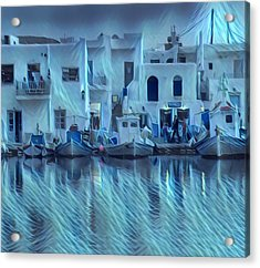 Paros Island Beauty Greece Acrylic Print