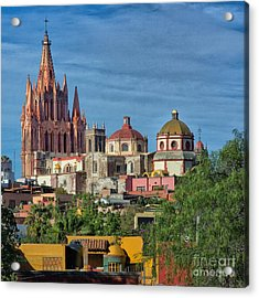 Parroquia  Acrylic Print by Nicola Fiscarelli