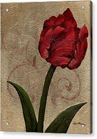 Parrot Tulip II Acrylic Print