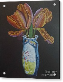 Parrot Tulips Acrylic Print