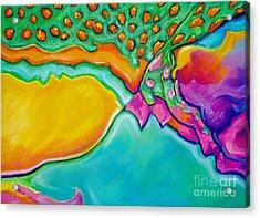Parrotfish 2 Acrylic Print by John Clark