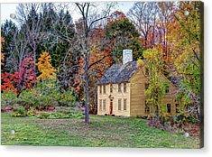 Parson Barnard House In Autumn Acrylic Print