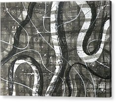 Part I Acrylic Print by Holly York
