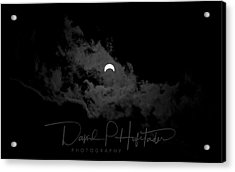 Partial Eclipse, Signed. Acrylic Print
