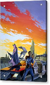 Partners  Acrylic Print by Richard Hescox