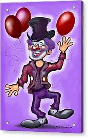 Party Clown Acrylic Print