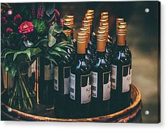 Party Acrylic Print by Happy Home Artistry