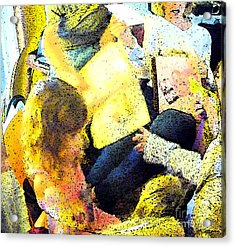 Party Overload Acrylic Print by JoAnn SkyWatcher