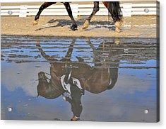 Pas De Deux Reflected Acrylic Print by JAMART Photography