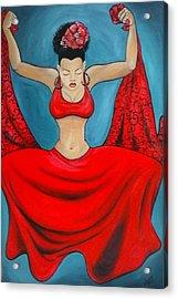 Pasa Doble Acrylic Print by Jenny Pickens
