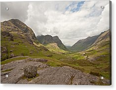 Pass Of Glencoe Acrylic Print
