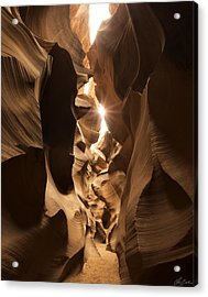Passage At Antelope Canyon Acrylic Print