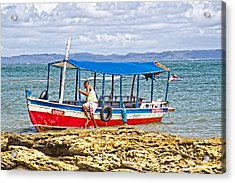 Acrylic Print featuring the photograph Passenger Boat by Kim Wilson