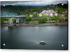 Passing Storm In Chattanooga Acrylic Print