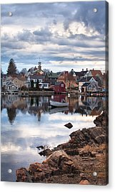Passing Storm In The South End Acrylic Print by Eric Gendron