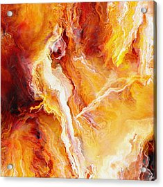 Passion - Abstract Art - Triptych 2 Of 3 Acrylic Print