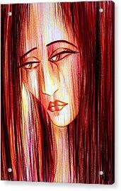 Passion Draining Acrylic Print