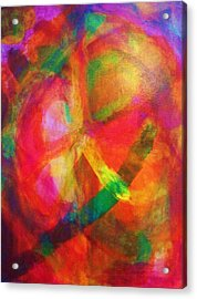 Passion Number Two Acrylic Print by Ricky Gagnon