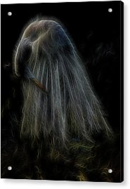 Passion Of Prayer Acrylic Print by William Horden