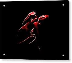 Passion Acrylic Print by Steve K