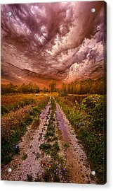 Passion Within Chaos Acrylic Print