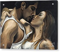 Passions Acrylic Print by Patty Vicknair