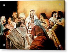 Passover Acrylic Print by G Cuffia