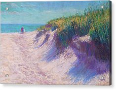 Past The Dunes Acrylic Print by Michael Camp