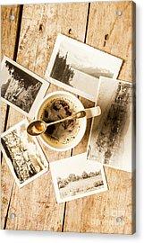 Past Time Tea Acrylic Print