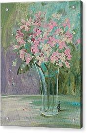 Pastel Blooms Acrylic Print