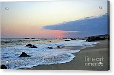 Acrylic Print featuring the photograph Pastel Blue by Victor K