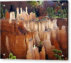 Pastel Bryce Acrylic Print by Marty Koch