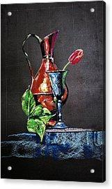 Pastel Glow Acrylic Print