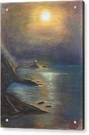 Pastel Msc 002 Acrylic Print