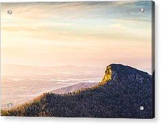 Table Rock Mountain - Linville Gorge North Carolina Acrylic Print