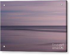 Pastel Sunrise Acrylic Print by Michelle Stevens