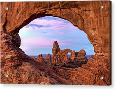 Pastel View Acrylic Print by James Marvin Phelps
