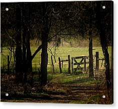 Pastor Gate  Acrylic Print by Robert Clayton