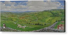 Acrylic Print featuring the painting Pastoral  by Cliff Spohn