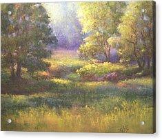 Pasture Grove Acrylic Print