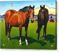 Pasture Pals Acrylic Print