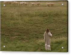 Pastures Acrylic Print by Vienne Rea