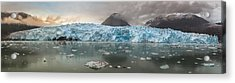 Patagonia - Glacier Amalia Acrylic Print by Michael Jurek