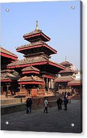 Patan Durbar Square Acrylic Print