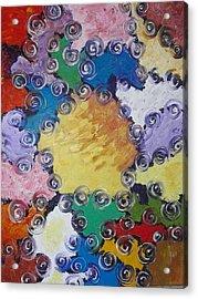 ''patchwork'' Acrylic Print