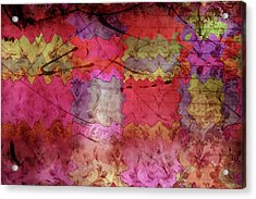 Patchwork Promises Acrylic Print by Bonnie Bruno