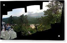 Patchwork View Acrylic Print